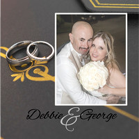 Debbie-George Wedding_frontcover-02